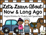 Now and Then Activities for Special Education