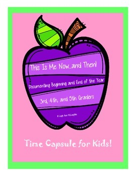 Now and Then Time Capsule (PDF and Editable)