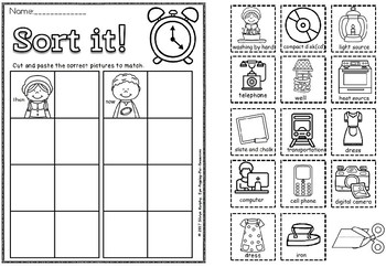 Now and then exit tickets and assessment (50% off for 48 hours)