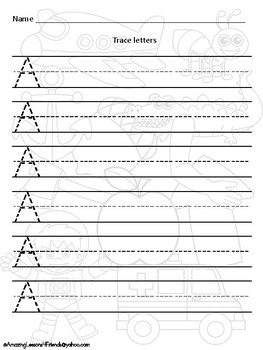 Now you See Me Uppercase Trace and Write Set 2