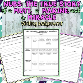 Nubs: The True Story of a Mutt, a Marine and a Miracle: Ch