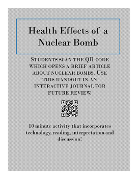 Nuclear Bomb Reading