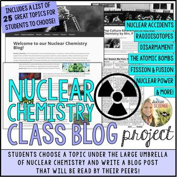 Nuclear Chemistry Class Blog Research Project