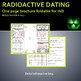 Nuclear Chemistry: Radioactive Dating Brochure Foldable for INB
