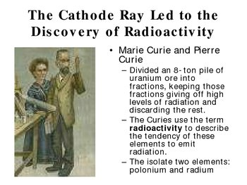 Nuclear Chemistry and Radioactivity Power Point