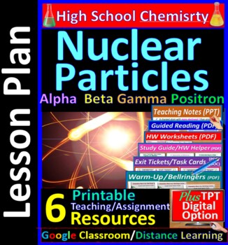 Nuclear Decay Particles, Stability of Nucleus: Essential Skills Lesson #54
