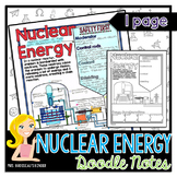 Nuclear Energy Generation: Nuclear Energy - Physics Doodle Notes