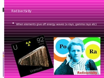 Nuclear Energy Notes