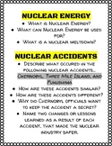 Nuclear Energy Research Questions