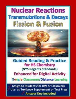 Nuclear Reactions, Transmutation, Fission: Essential Skills Lesson #55 & 56