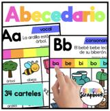 Nuestro Alfabeto (Alphabet Posters in Spanish)