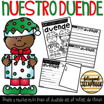 Nuestro Duende (Elf in the Classroom Letter & Journal)