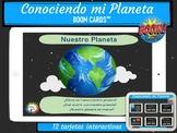 Nuestro Planeta Boom Cards