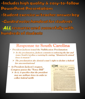 Nullification Lesson Plan
