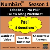 Numb3rs™  Season 1 Episode 1 Pilot Follow-Along Worksheet
