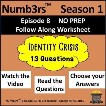 Numb3rs™  Season 1 Episode 8 Identity Crisis Follow-Along