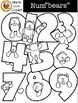 "Num""bears"" Numbers 0 - 9 [Marie Cole Clipart] UPDATED!"