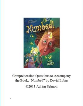 """""""Numbed"""" Comprehension Questions"""