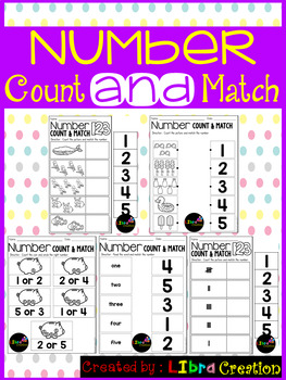 Number 1 - 20 Count & Match