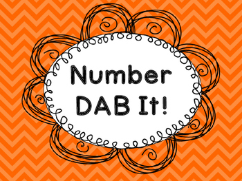 Number 0-20 DAB It!