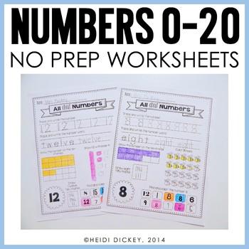 Number Worksheets