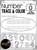 Number 0 - 20 Trace & Color Freebies