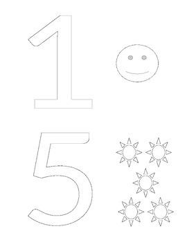 Number 0-5 Book