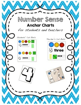 Number 1-10 Anchor Charts