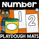 Number {1-10} Playdough Mats