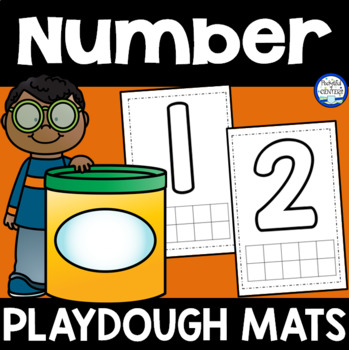 Number {1-10} Playdough Mats