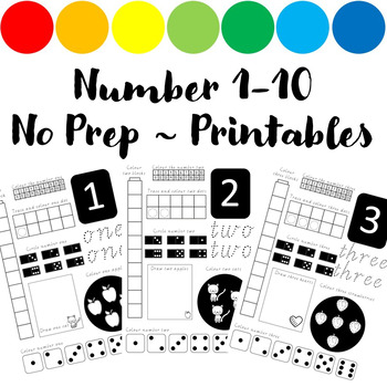Number 1-10 : Print & Go!