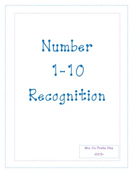 Number 1-10 Recognition