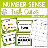 Numbers 1-10 Task Cards for Number Sense - First Grade and