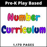 Pre-K Number Curriculum 0-25