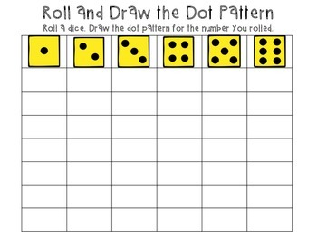 Numbers 1-12, Roll & Practice!