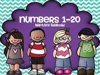 Numbers 1-20 Interactive Notebook Activities