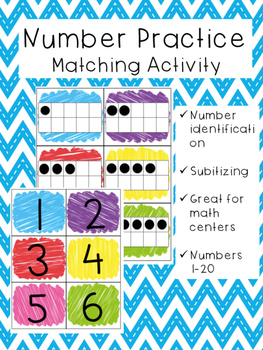 Number Match 1-20