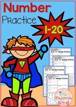 Number 1-20 Practice (Set 1)