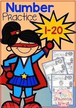 Number 1-20 Practice (Set 2)