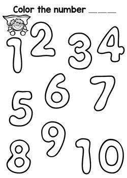 Number 1-20 Practice (The Bundle)