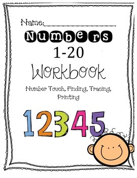 Numbers (1-20) Workbook