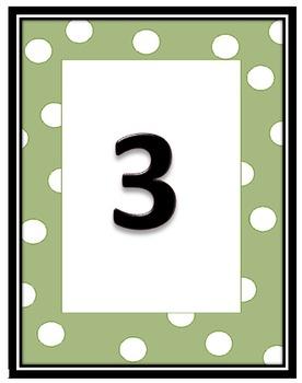 Number 1-30