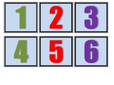 Number flashcards 1-100 Printable