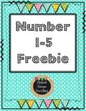 Number 1-5 Freebie