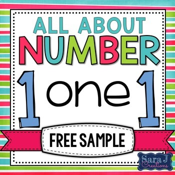 Math Centers Number 1 {FREE SAMPLE}