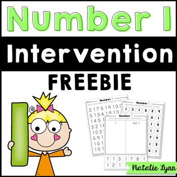 Number 1 Intervention FREEBIE