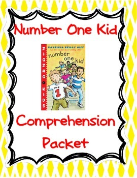 Number 1 Kid Comprehension Packet