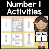 Number 1 Mini Bundle {Number 1 Worksheets and Six Number 1 Activities!}