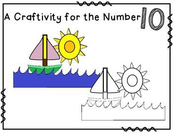 Number 10 Craftivity
