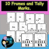 Number 10 Frames and Tally Marks.